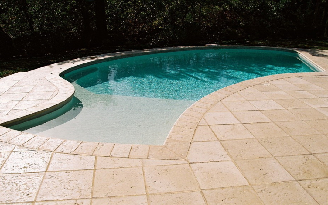 pose margelle piscine
